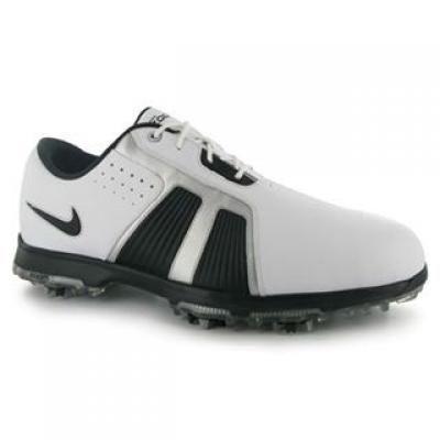 Trofeu Pantofi de Golf Nike Zoom pentru Barbati alb argintiu