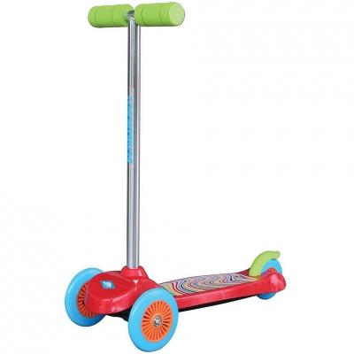 Trotinete trei-wheel Schildkrot Little rosu 510392 pentru Copii