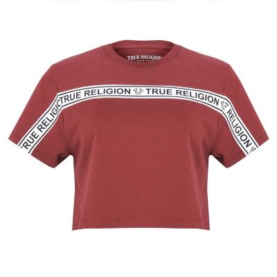 True Religion True Cropped Tape T Ld14 visiniu