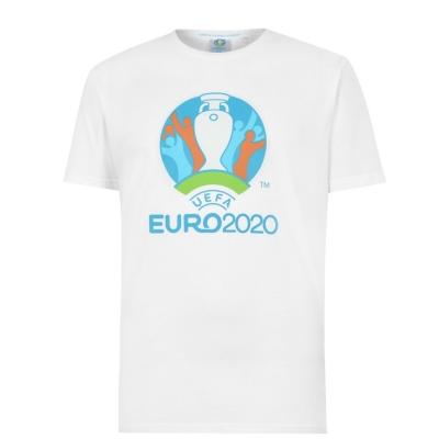 Tricou UEFA Euro 2020 Stadium pentru Barbati alb