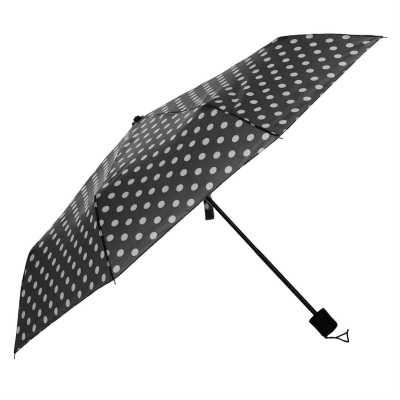 Umbrela Slazenger Web Fold negru buline