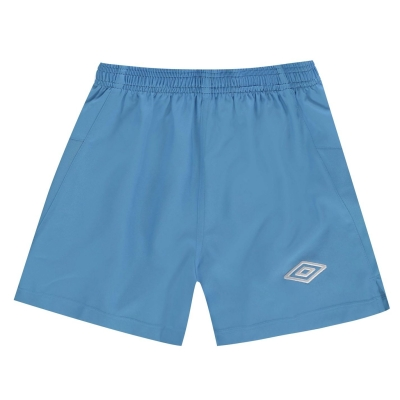 Sort fotbal Umbro Team albastru alb