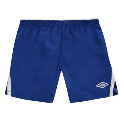 Pantaloni scurti Umbro Team pentru copii albastru roial alb