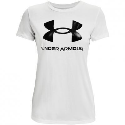 Under Armor Live Sportstyle imprimeu Graphic alb SSC 1356305 102 pentru femei