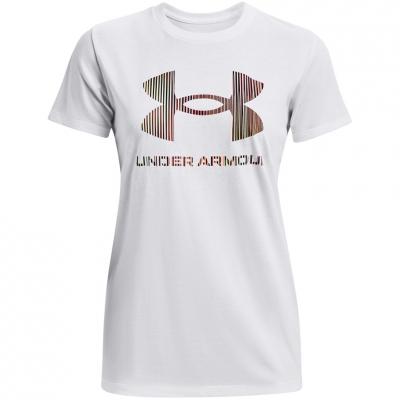 Under Armor Live Sportstyle imprimeu Graphic SSC alb 1356305 105 pentru femei
