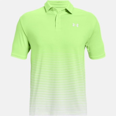 Under Armour Playoff Polo 2.0 verde alb
