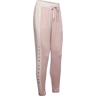 Pantaloni jogging Under Armour Armour Recover tricot pentru femei roz