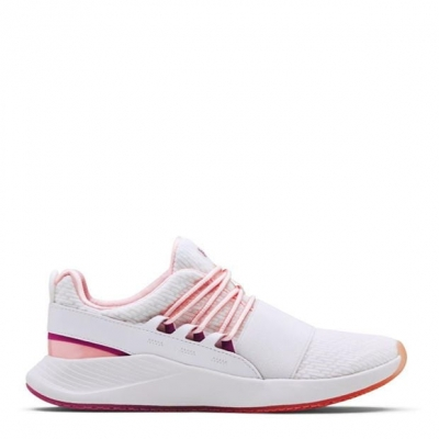 Under Armour W Charged Br femei alb