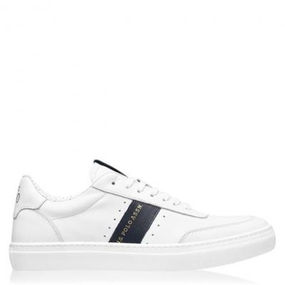 US Polo Assn Landon Sneakers alb whi droy