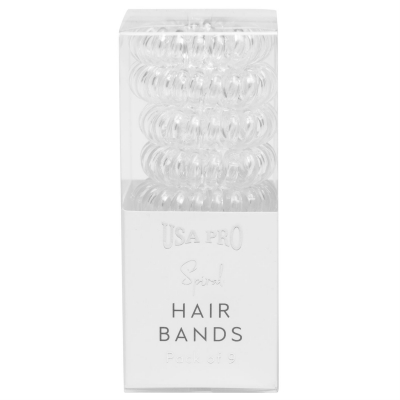 USA Pro Invisible Hair Bands transparent
