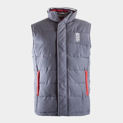Veste Anglia Cricket pentru Barbati inchis gri