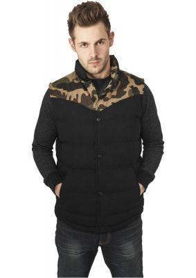 Veste barbati camuflaj camuflaj-negru Urban Classics
