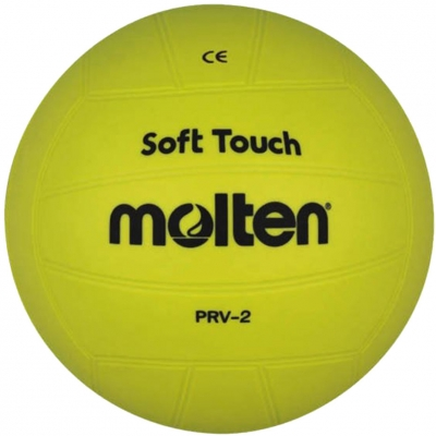 volei Molten Softball cauciuc galben PRV-2
