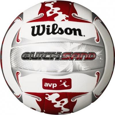 volei Wilson AVP Quicksand alb rosu gri WTH489019 copii