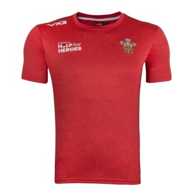 VX-3 Help 4 Heroes Wales Tee pentru baietei rosu