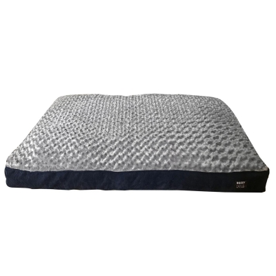 Waggy Tails Tails Cord Giant Bed bleumarin