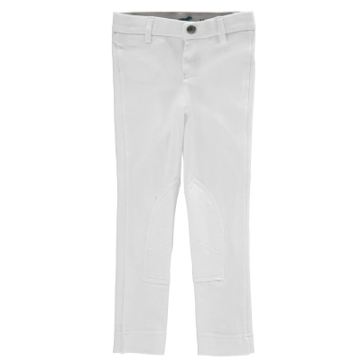 Pantaloni calarie Wessex Maids pentru fetite alb