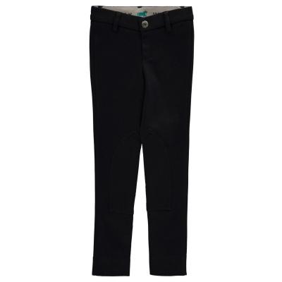 Pantaloni calarie Wessex Maids pentru fetite negru