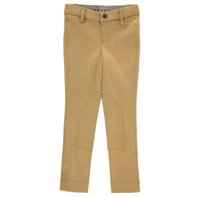 Pantaloni calarie Wessex Maids pentru fetite bej