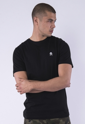 Tricou C&S PA Small Icon negru-alb Cayler and Sons