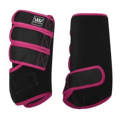 Woof Wear antrenament Wrap negru roz inchis
