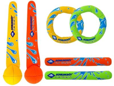 Set Inele scufundari neopren / 2 ringo, saws, sticks 970207-3114 Schildkrot