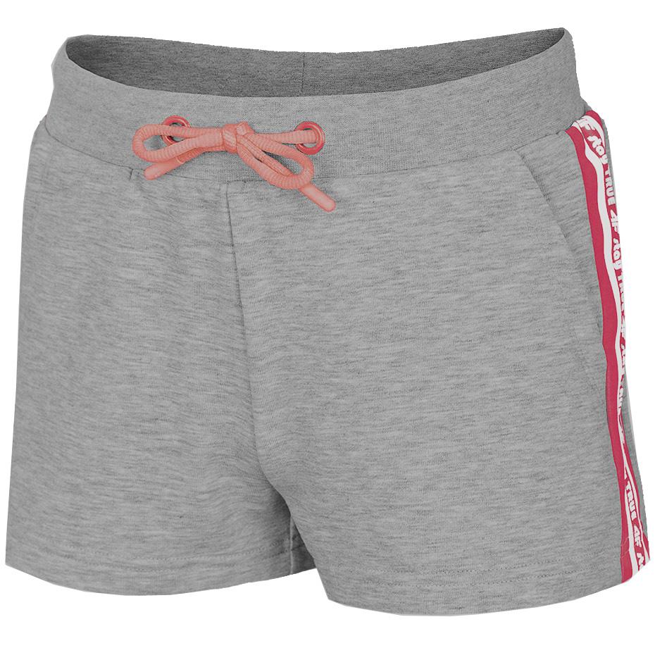 Mergi la Pantaloni scurti gri 4F pentru sport fetite