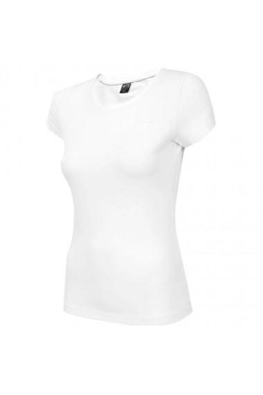 Mergi la Tricou sport maneca scurta alb 4F femei