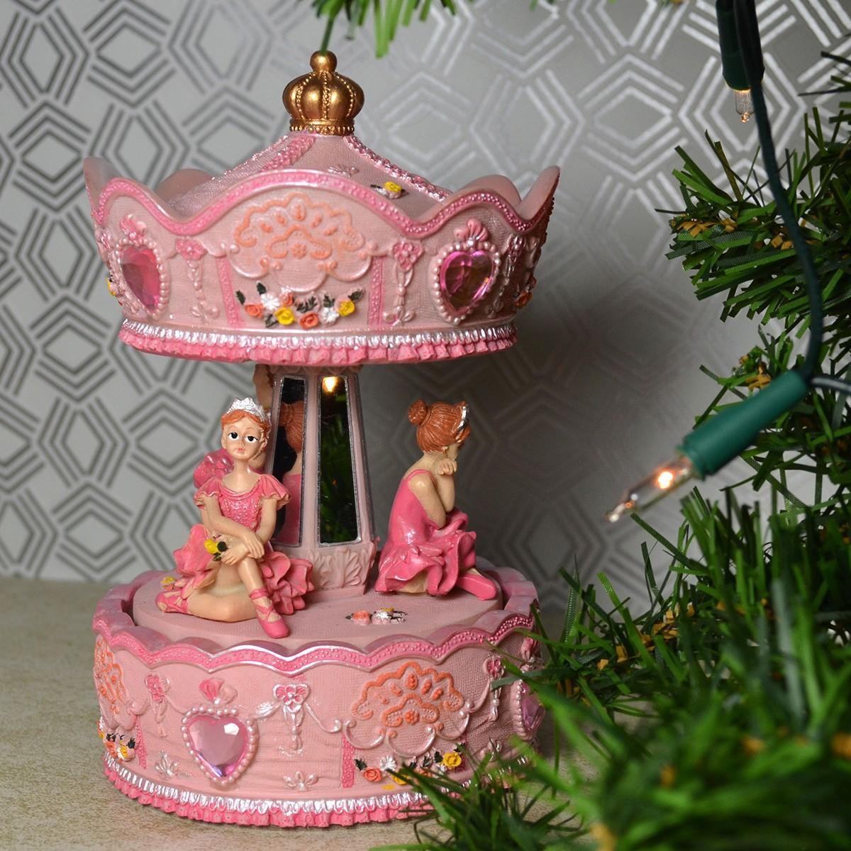Mergi la Carusel Muzical - Balerine Roz