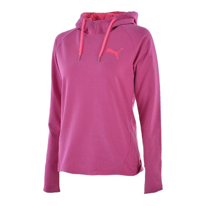 Hanorac Puma roz cu gluga Active Ess femei