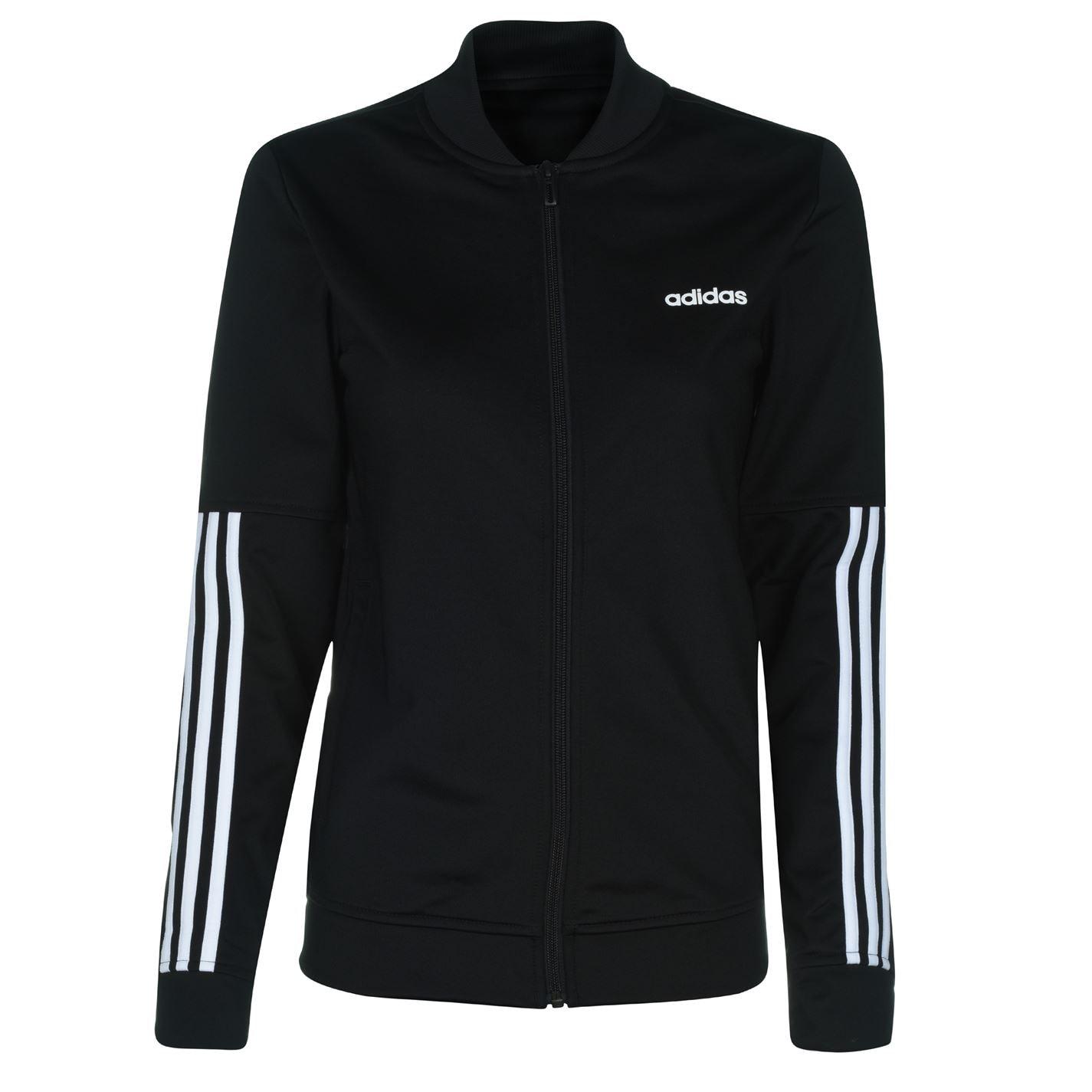 Mergi la Bluza trening neagra adidas Back 2 Basics 3-Stripes femei