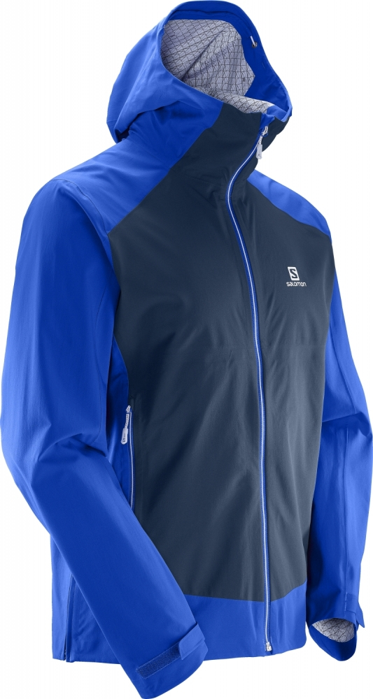 Geci impermeabile outdoor barbati Salomon La Cote Stretch 2.5L Jacket