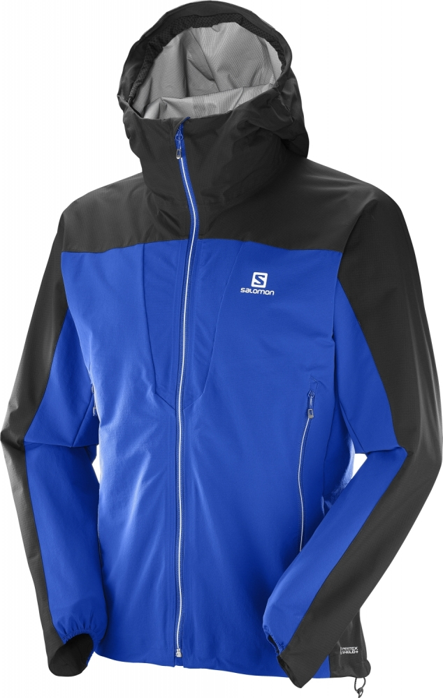 Geci impermeabile outdoor barbati Salomon X Alp Hybrid Jacket