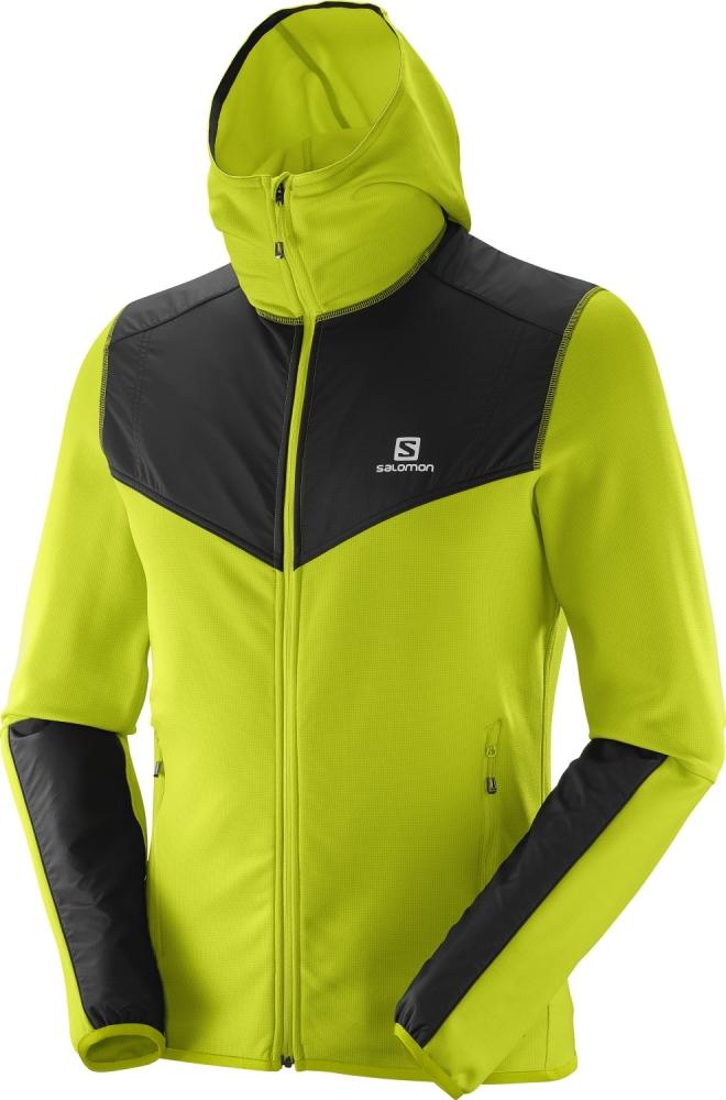 Geci impermeabile outdoor barbati Salomon X Alp Mid Hoodie