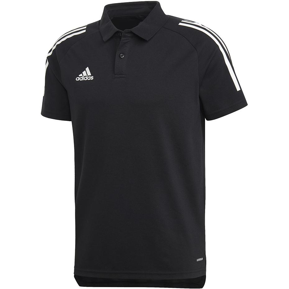 Mergi la Adidas Condivo 20 Polo negru And alb ED9249