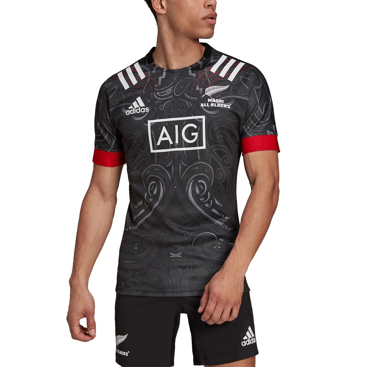 adidas Maori All Blacks Shirt 2021 art
