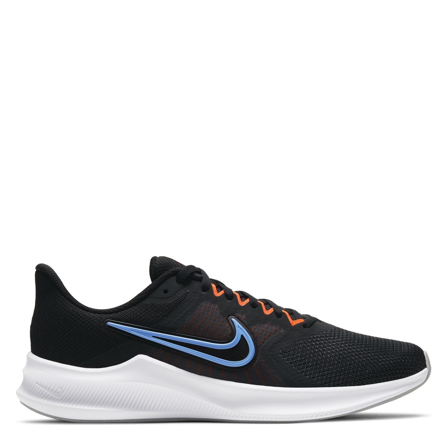 Adidasi alergare Nike Downshifter 11 pentru Barbati negru albastru portocaliu