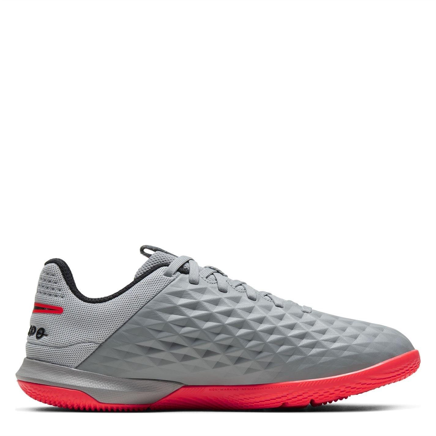 Mergi la Adidasi fotbal de sala Nike Tiempo Legend 8 Academy pentru copii bomber gri