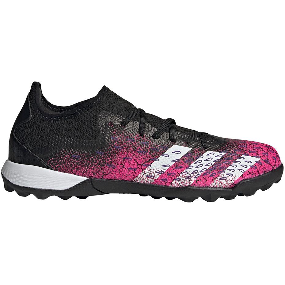 Mergi la Adidasi gazon sintetic fotbal  Adidas Predator Freak.3 L gazon sintetic roz-negru FW7520