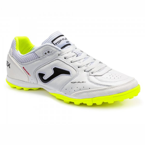 Mergi la Adidasi Gazon Sintetic Joma Top Flex 2102 alb lamaie Fluor