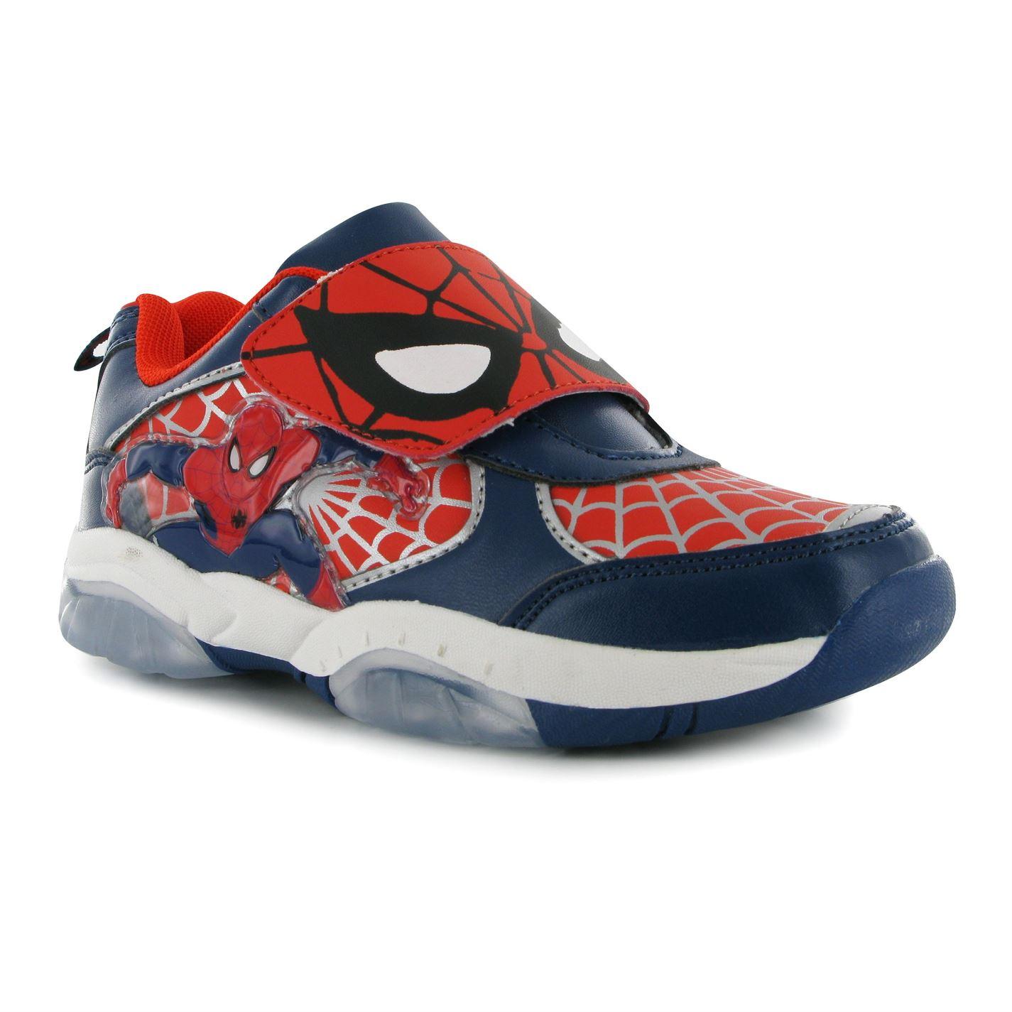 Adidasi Marvel Spiderman Lights Pentru Copii
