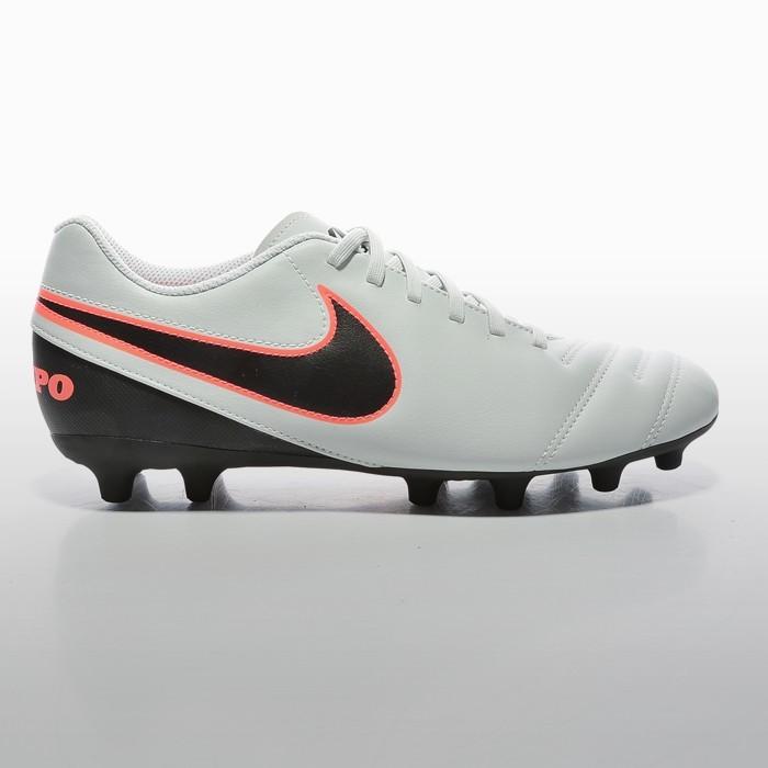 Ghete fotbal Nike Tiempo Rio Iii Fg Barbati gri negru