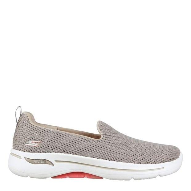 Adidasi Skechers Go Walk Archfit Shoes pentru femei gri coral