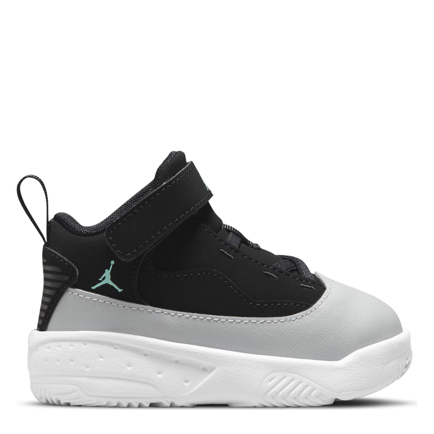 Adidasi sport Air Jordan Jordan Max Aura 2 pentru Bebelusi negru verde gri