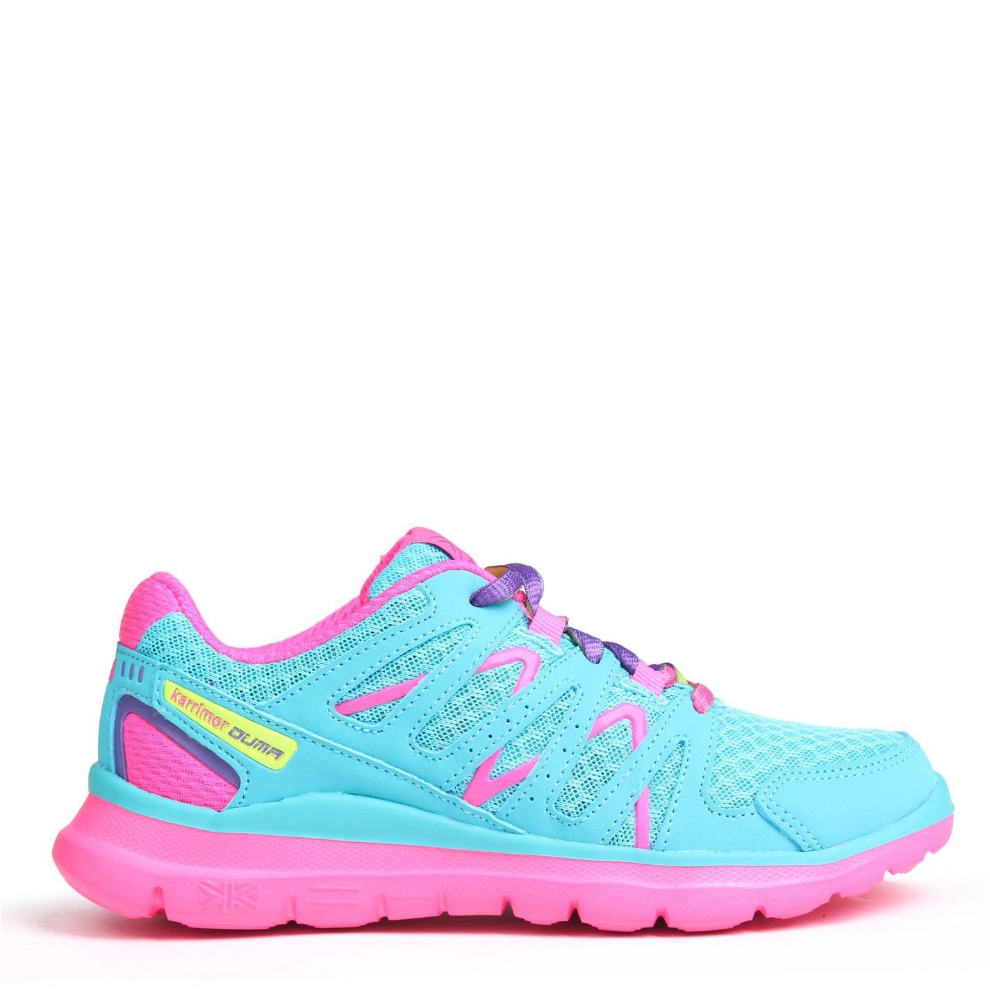 Adidasi sport Karrimor Duma Child pentru fete bleu roz
