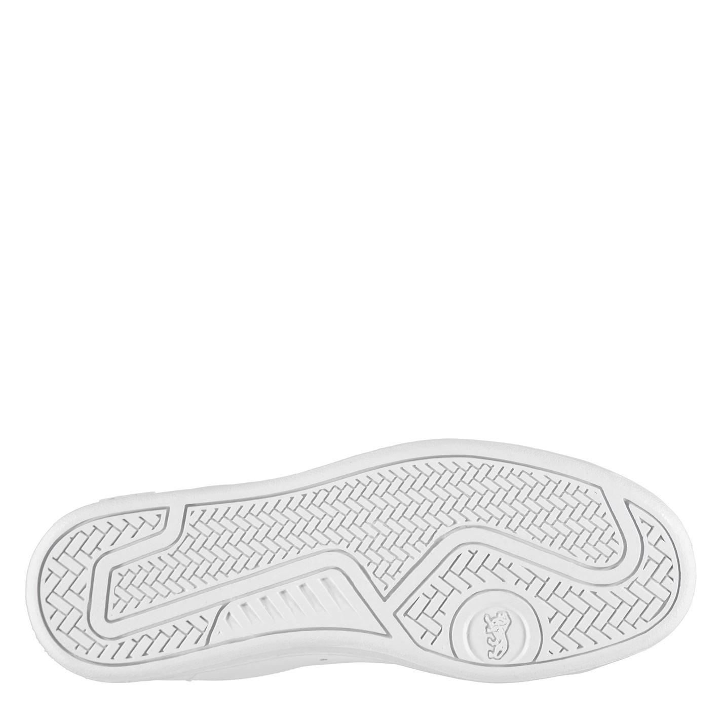 Adidasi sport Lonsdale Leyton din piele pentru Barbati alb bleumarin