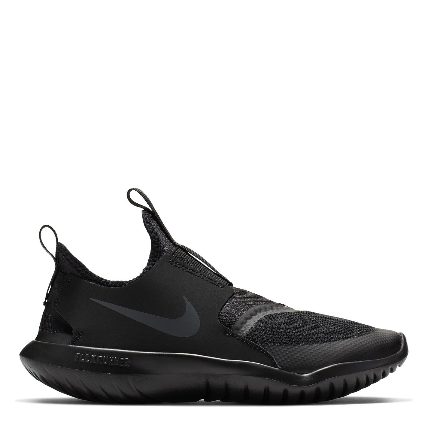 Adidasi sport Nike Flex Runner pentru baietei triple negru