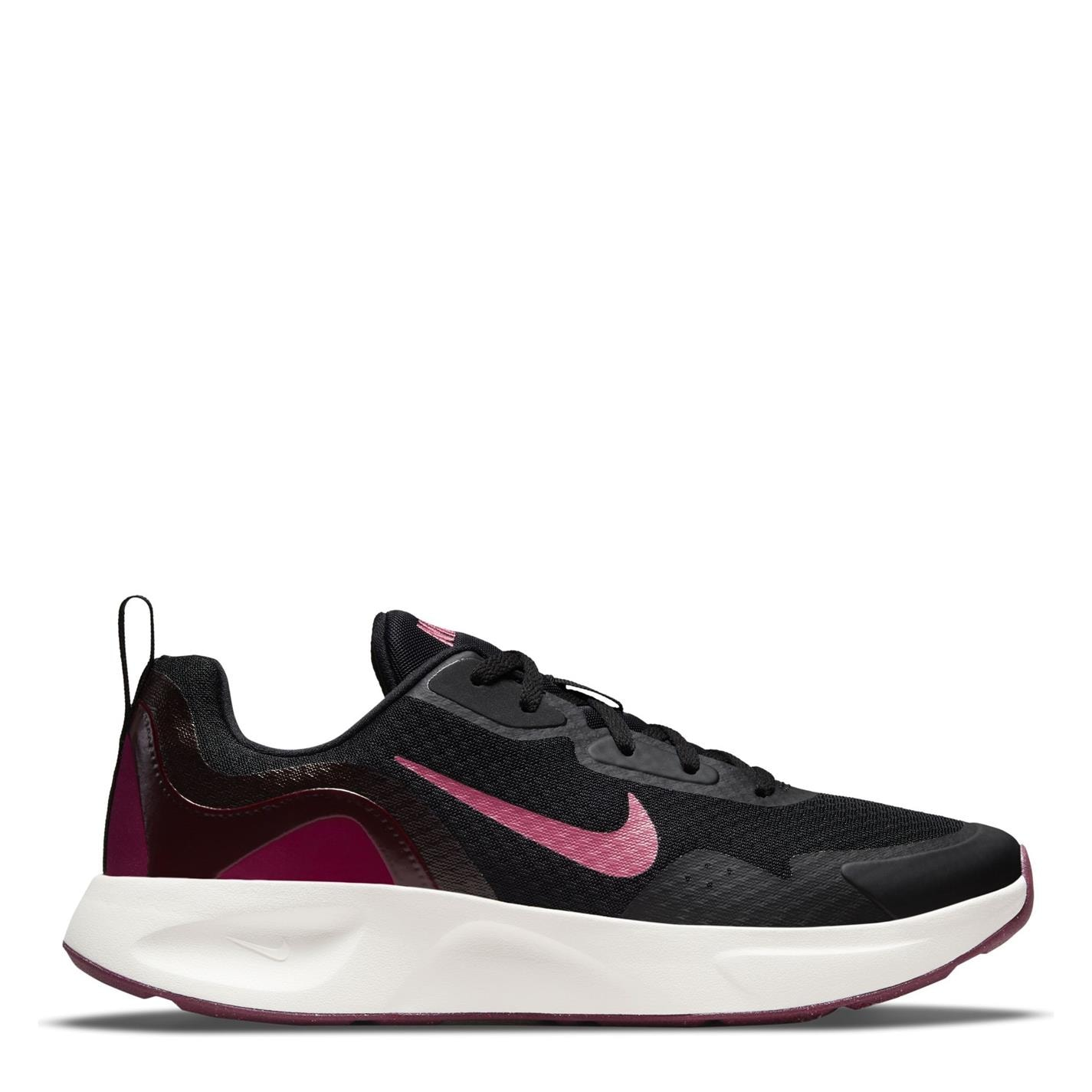 Adidasi sport Nike Wearallday pentru femei negru roz