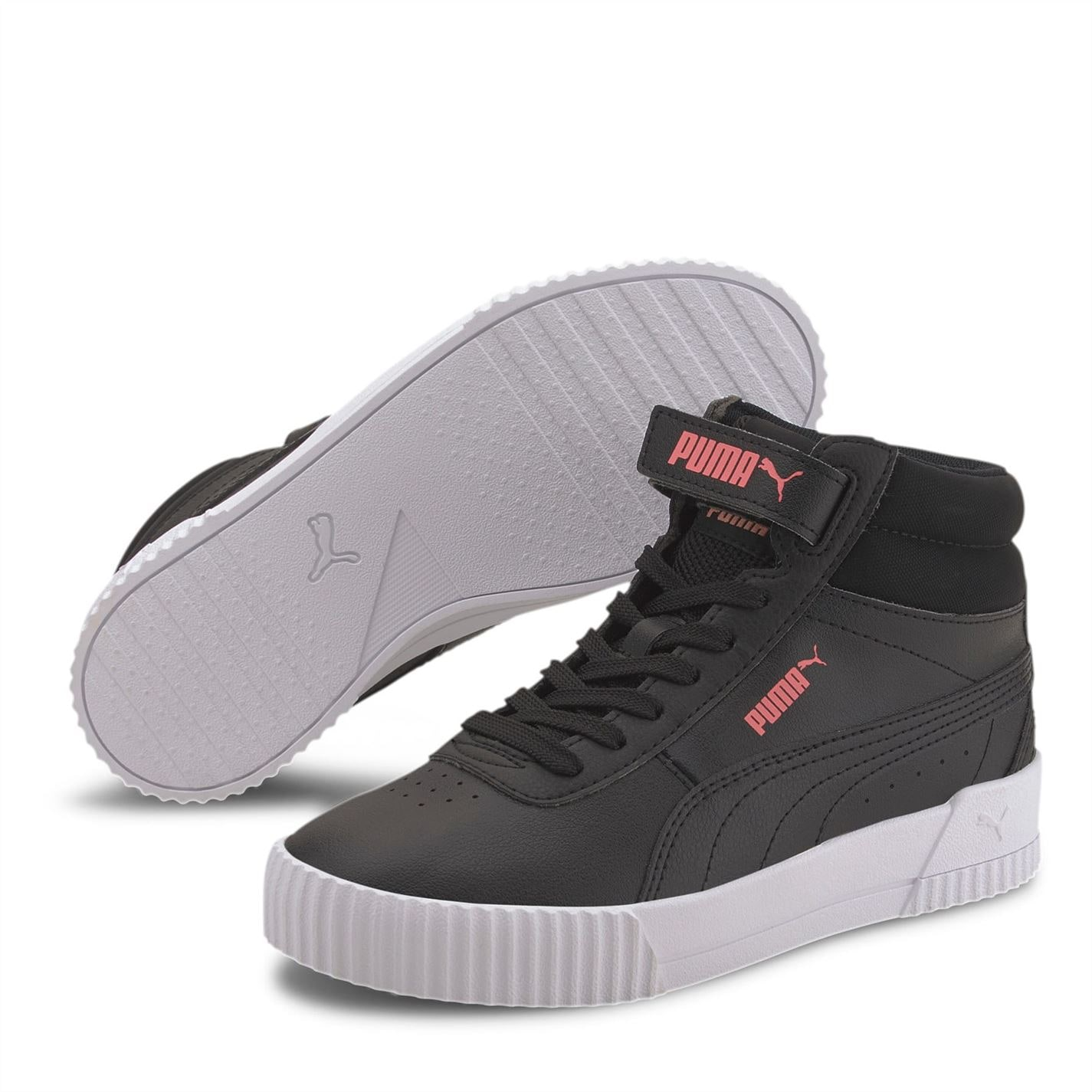 Adidasi sport Puma Carina Mid pentru fetite negru