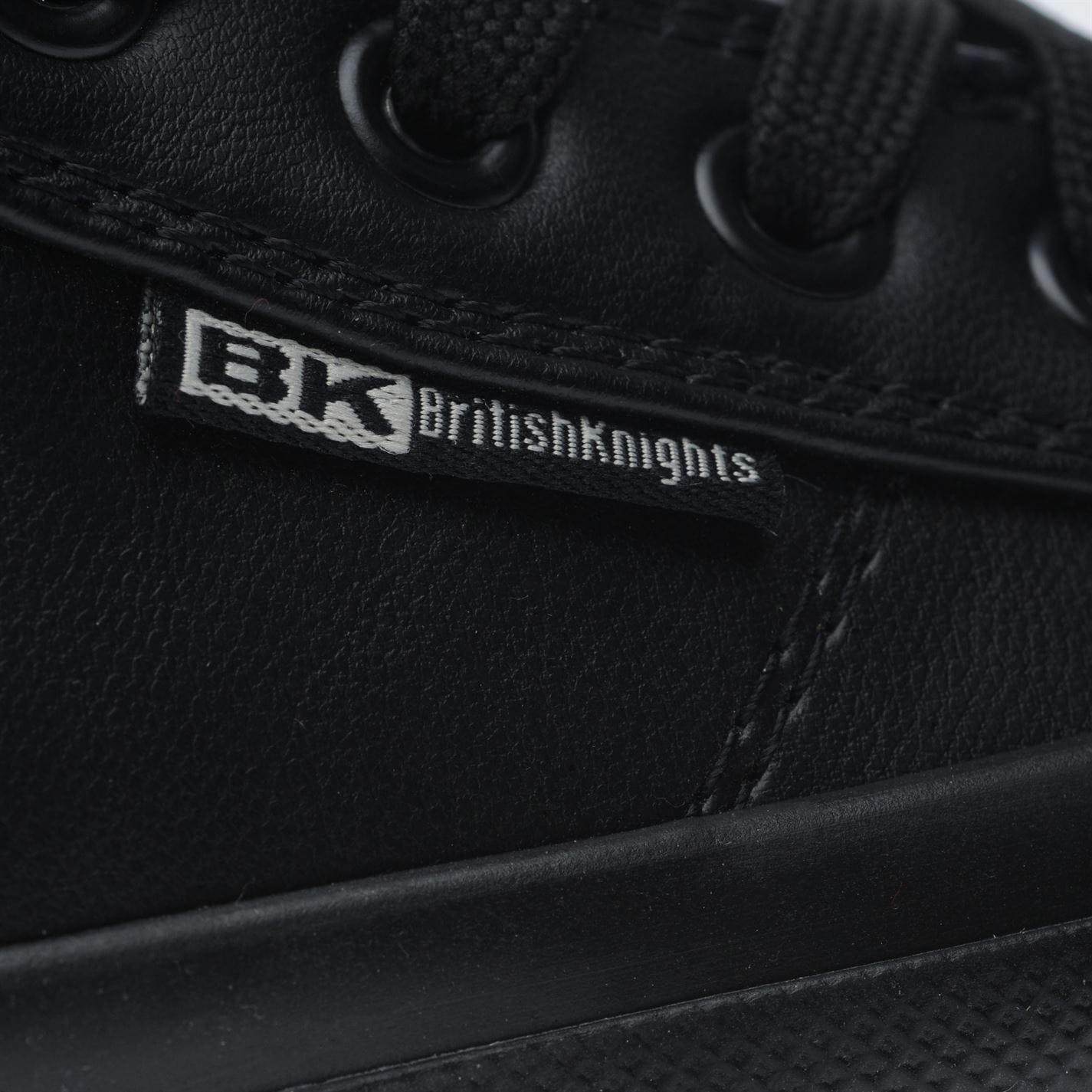 Adidasi sport British Knights Roco Fold Over pentru copii negru